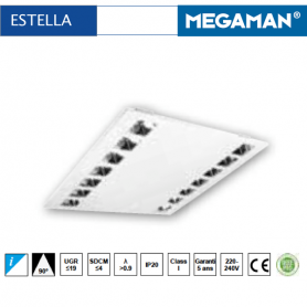 dalle led megaman estella luminaire led