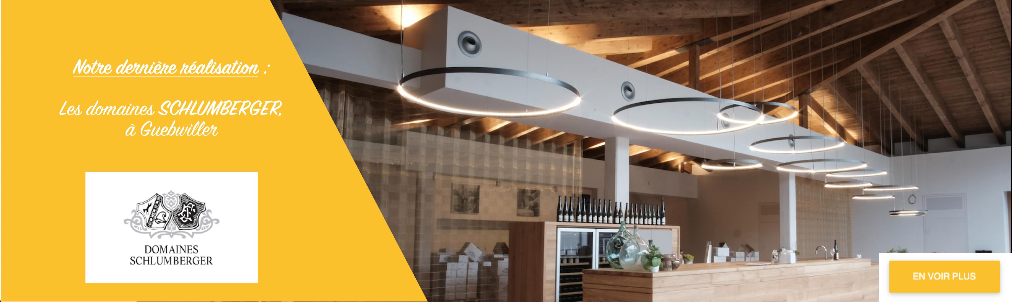Éclairage architecturale Belfort Colmar LED