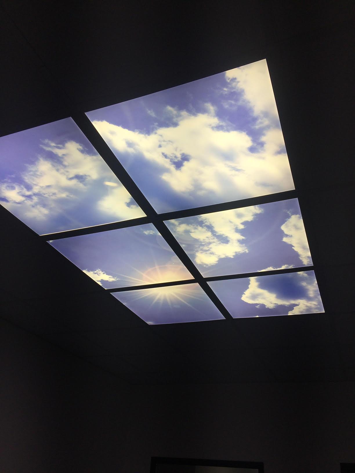 Eclairage architecturale dalles LED belfort sur mesure